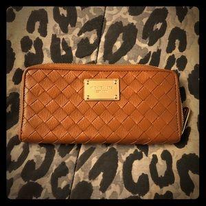 NEW Michael Kors tan wallet